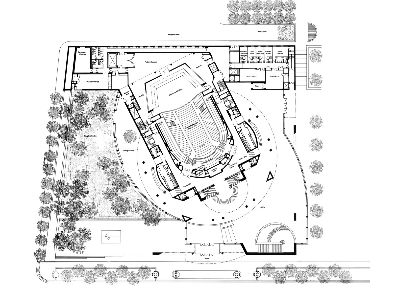 the morton h meyerson symphony center pei cobb freed u0026 partners
