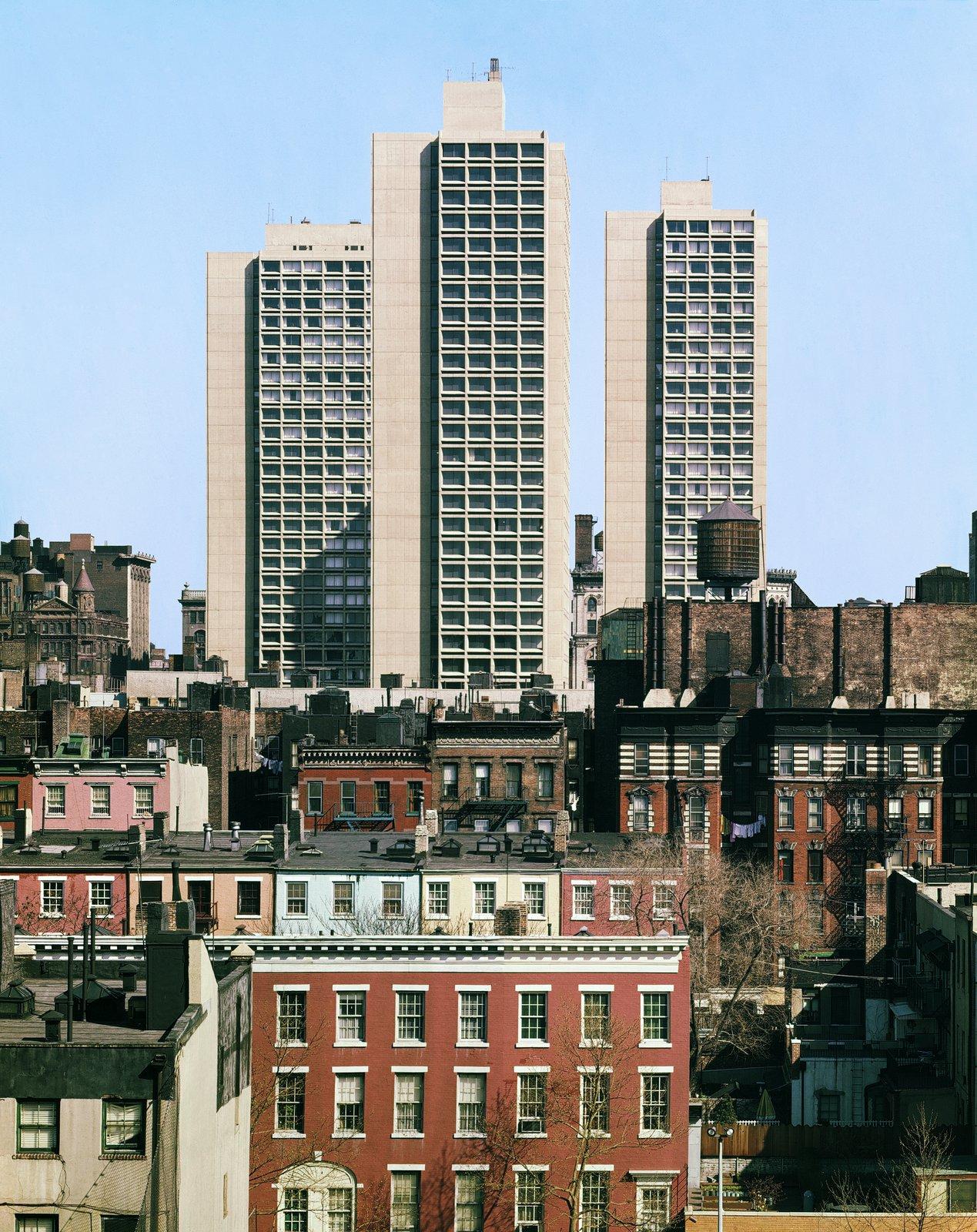 University Plaza, New York University | Pei Cobb Freed